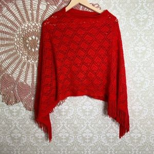 Just Be... Knit Poncho